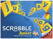 Настольная игра Scrabble Junior / Эрудит Mattel 5+