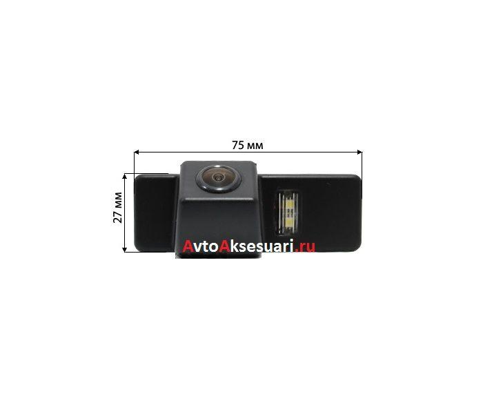 Камеры заднего вида для Peugeot 407