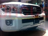 Защита переднего бампера Тип - 3 для Toyota Land Cruiser 200 2012