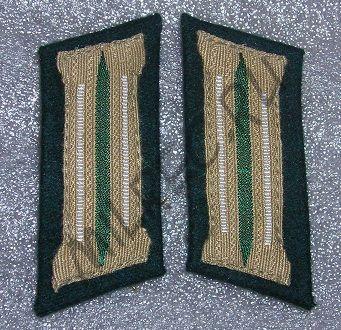 Петлицы, Вермахт, (пехота) образца 1935 года (реплика)