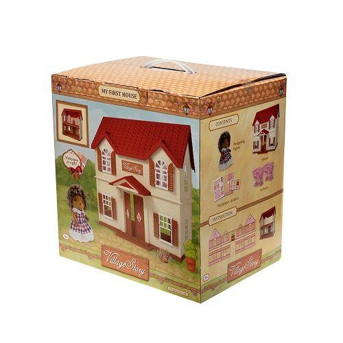 Домик с красной крышей Village Story