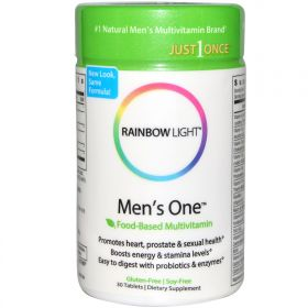 Rainbow Light Men's One Energy Multivitamin (30 табл.)