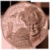 Летучая мышь 5 евро Австрия 2015