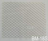 """Наклейка для дизайна ногтей на клеевой основе """"Серебро"""" BM - 18S"""