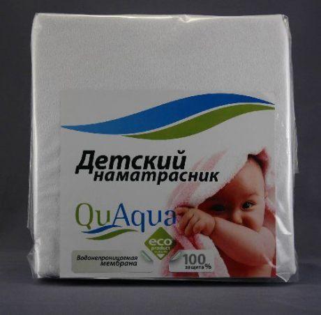 """Наматрасник непромокаемый натяжной """"Qu Aqua"""" (махра)"""