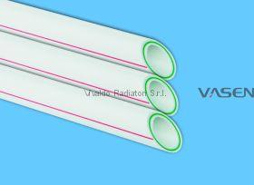 Труба 20мм стекловолокно VASEN полипропиленовая (трубы PPR-FB-PPR (PPR/Fb/PPR) полипропиленовые армированные)
