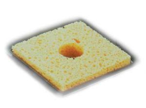 Губка для чистки жала паяльника большая (60 мм x 60 мм)