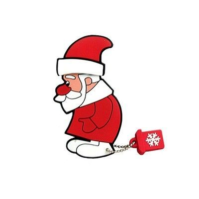 16GB USB-флэш накопитель Apexto Дед Мороз, OEM