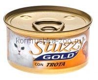 Stuzzy Gold консервы для кошек (мусс из форели)