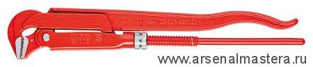 Клещи трубные (КЛЮЧ  ТРУБНЫЙ), губки наклонены под углом 90° KNIPEX 83 10 020