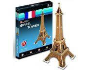 3D пазл Эйфелева башня (20 дет.) CubicFun