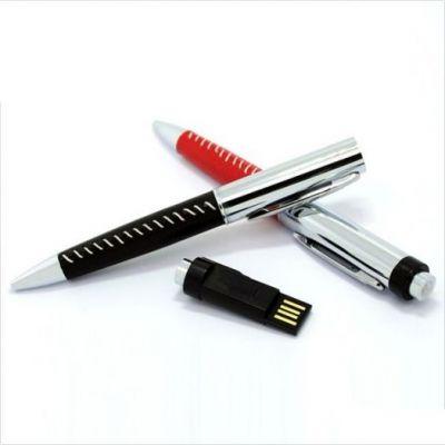 32GB USB-флэш накопитель Apexto U502Z ручка в красной оплетке