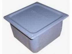 Коробка протяжная металлическая 100х100х80мм (Арт. У-994)