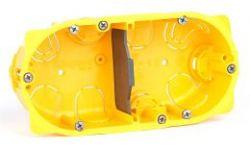 Монтажная коробка Legrand Batibox 2п гл.50мм для сухих перегородок (Арт. 80052)
