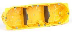 Монтажная коробка Legrand Batibox 3п гл.50мм для сухих перегородок (Арт. 80053)