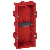 Монтажная коробка Legrand Batibox 2п гл.40мм для кирпичных стен (Арт. 80142)
