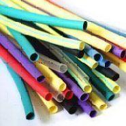 Термоусадочная трубка D6,3-3,25 (Цвет: белый, желтый, зеленый, красный, синий, черный)(Арт. ТУТ6,3-3,25)