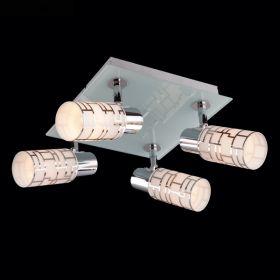СПОТ ES 21501/4 хром/белый