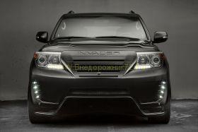 Аэродинамический обвес INVADER для Toyota Land Cruiser 200