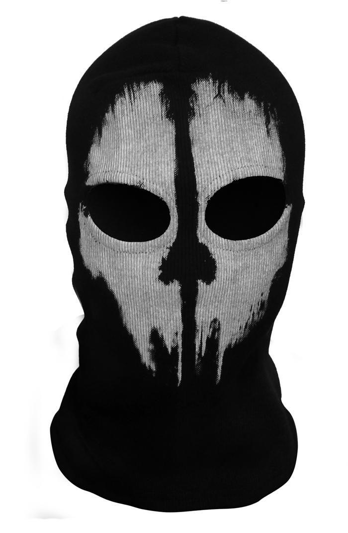Балаклава GHOSTS call of duty - клан призраков