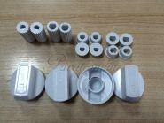 Эл_Ручка управления для плиты  универсальная комплект 4шт (белая) (WL1032)