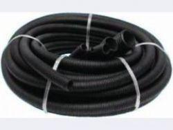 Труба гофрированная ПНД с протяжкой ,черная D25мм (50м)