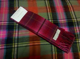 шарф 100% шерсть , расцветка замка Лористон Lauriston Castle, плотность 6