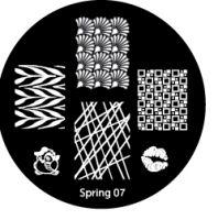 Диски для стемпинга серии Spring № 07