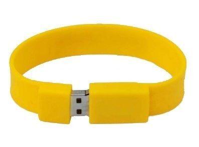 16GB USB-флэш накопитель Apexto U601A браслет желтый