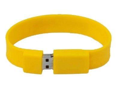 4GB USB-флэш накопитель Apexto U601A браслет желтый