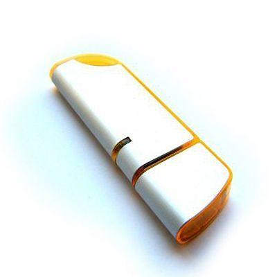 64GB USB-флэш накопитель Apexto U207 металлическая с оранжевой вставкой