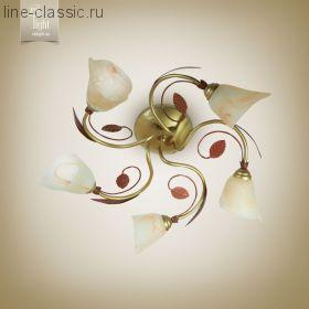 """Люстра N&B light 15605 """" МОСКВА"""" золото.медь."""