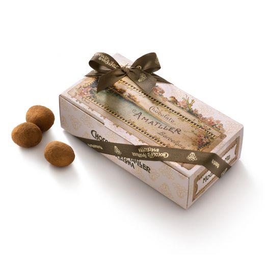 Конфеты драже Amatller Миндаль Аматлон в белом шоколаде и пудре - 125 г (Испания)
