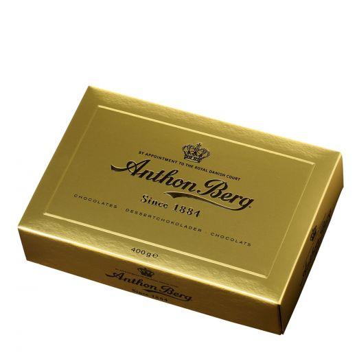 Конфеты шоколадные Anthon Berg ассорти Золотой сундучок - 400 г (Дания)