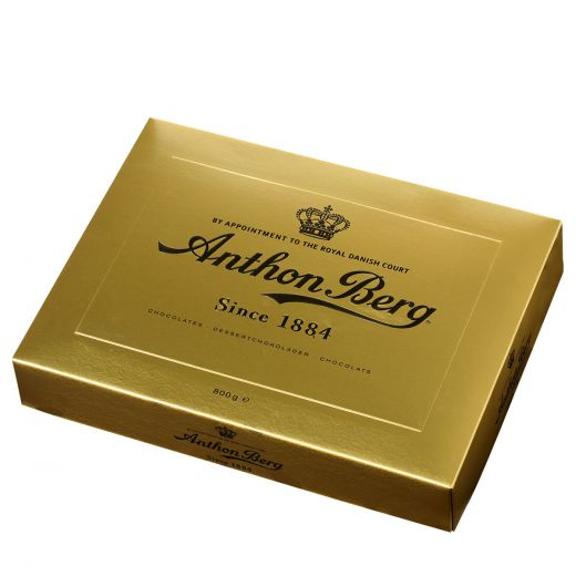 Конфеты шоколадные Anthon Berg ассорти Золотой сундучок - 800 г (Дания)