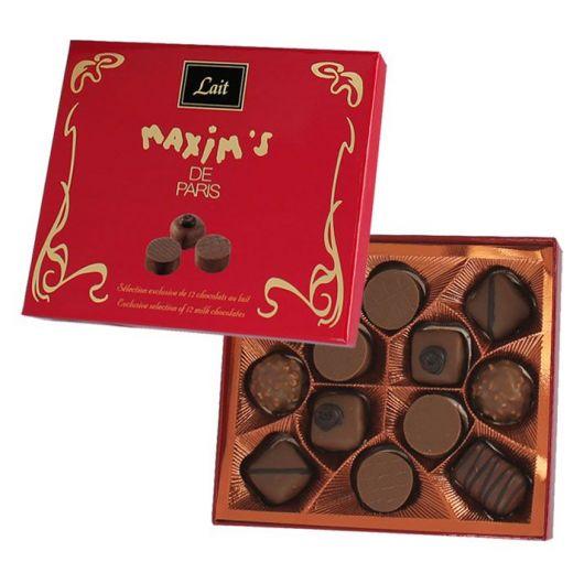 Конфеты шоколадные Maxim`s Конносье из молочного шоколада - 120 г (Франция)