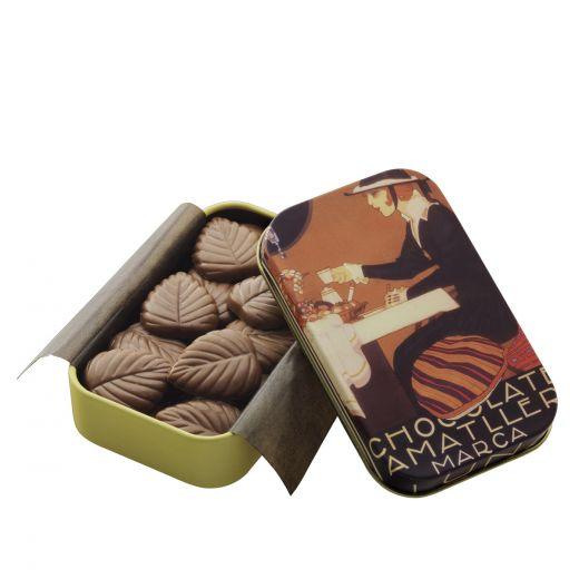 Лепестки шоколадные Amatller из молочного шоколада - 30 г (Испания)
