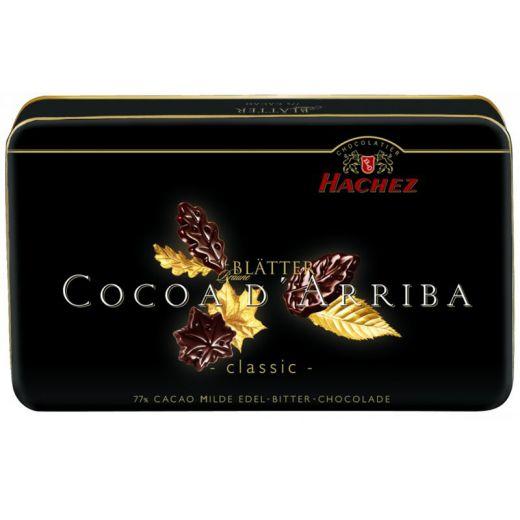 Лепестки шоколадные Hachez Классические 77% - 150 г (Германия)