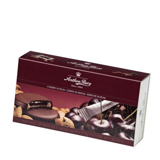 Марципан Anthon Berg в тёмном шоколаде «Вишня в роме» - 275 г (Дания)