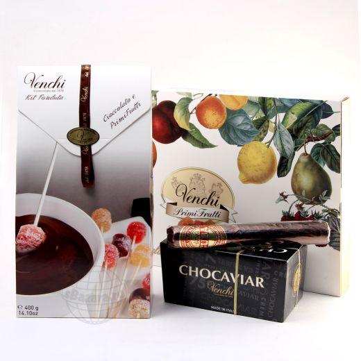 Подарочный набор шоколада и конфет Venchi Choca-Cuba-Marmalade (Италия)