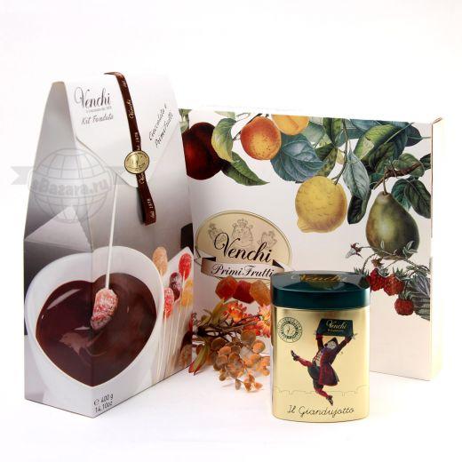 Подарочный набор шоколада и конфет Venchi Chocolate-Marmalade (Италия)