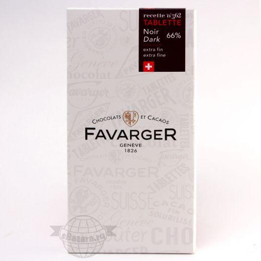 Шоколад Favarger Тёмный - 100 г (Швейцария)