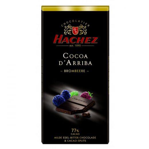 Шоколад Hachez с Ежевикой 77% - 100 г (Германия)