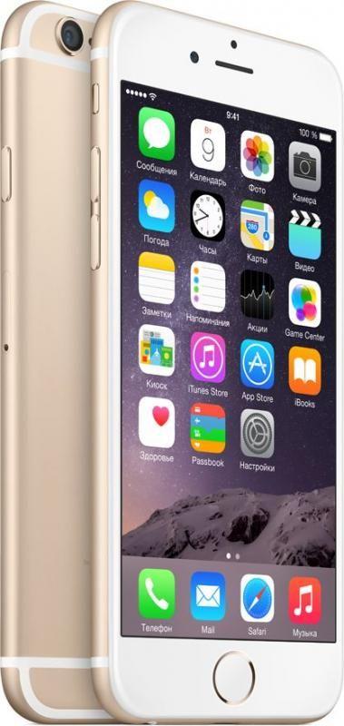 Apple iPhone 6 16 ГБ Золотой