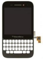 LCD (Дисплей) BlackBerry Q5 (в сборе с тачскрином) (в раме) (black) Оригинал