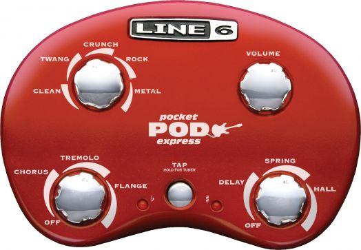 LINE 6 POCKET POD EXPRESS Процессор гитарный
