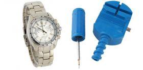 Устройство  для регулировки размера часовых браслетов