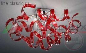 Люстра METALLUX 206.330.15 хром/серебро 9 vetri