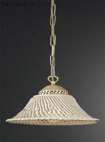 Люстра LA LAMPADA L 6641/1.17 Avorio+Gold d21
