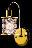 Бра ES 7064/1 золото хрусталь Асфор